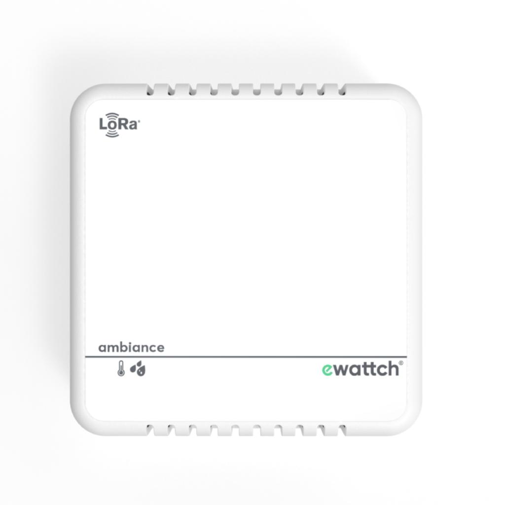 Capteur humidité et température - capteur température - capteur humidité - capteur Lora - capteur Lorawan - Ewattch