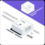 Capteur ambiance environnement luminosité - retour expérience utilisateur