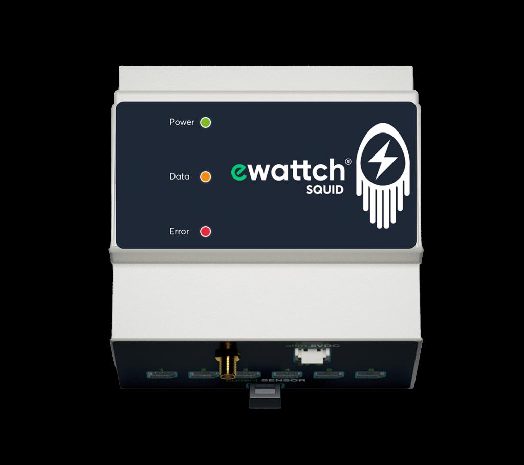 Squid Ewattch sensor - electric sub-metering - three-phase electric meter - single-phase electric meters - lora sensor - lorawan sensor